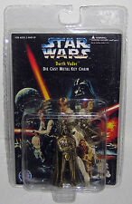 Star Wars DARTH VADER Die Cast Metal Key Chain *New In Package* Placo Toys 1996