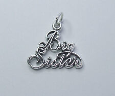 BIG SISTER CHARM 925 STERLING SILVER