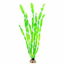 Artifical Grass Aquarium Decor Weeds Ornament Underwater Plant Fish Tank Green