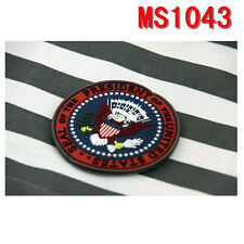 Outdoor Sport USA Impersonator President Patch Applique Embroidered Badge Velcro
