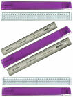 """Dovecraft Craft Ruler 30cm 12"""" With Piercing Holes, Crafts Too, Linex & Others!"""