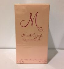 Luscious Pink By Mariah Carey 3.4 Oz Eau De Parfum Spray NIB Sealed For Women