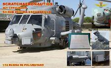 SET CONVERSIÓN SH-60B ARMADA ESPAÑOLA. ESCALA 1/72. RESINA DE POLIURETANO