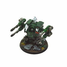 DARK ANGELS Converted Dreadnought #2 WELL PAINTED Warhammer 40K Autocannons