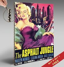 THE ASPHALT JUNGLE 1950 * MOVIE POSTER * Marilyn Monroe Vintage Classic *A4 size