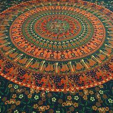 Mandala indische Wandbehang Tapisserie Baumwolle Twin Dekor Wurf TP1772C