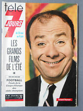 ►TELE 7 JOURS 579/1971 - F.RAYNAUD - ARLETTY - JEAN CLAUDE DROUOT - M. LE ROYER