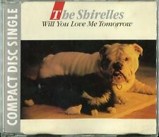 The Shirelles  CD-MAXI  WILL YOU LOVE ME TOMORROW   (c) 1988 Charly Rec. CDS 12