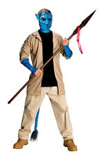 Avatar Movie: Jake Sully Adult Deluxe Costume XL Cheap Closeout Blue Pandora