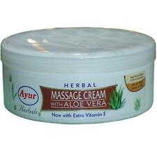 Ayur Natural Herbal Massage Cream with Aloe Vera and  Cleansing - 200ml