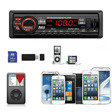 Car Bluetooth Stereo Aux Input USB/SD/FM MP3 Receiver Player In-Dash 8268 Good