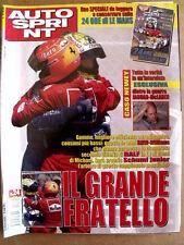 AUTOSPRINT n°24 2001 con inserto Speciale 24 ORE DI LE MANS Guida    [P52]