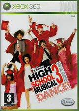 High School Musical 3 Dance (Xbox 360 Segunda mano)
