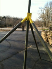 TRIPOD FOR USE WITH MILITARY FIBERGLASS ALUMINUM POLES, HAM RADIO
