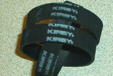 3PK Genuine Kirby Vacuum softer Black Belts for older machines 159056