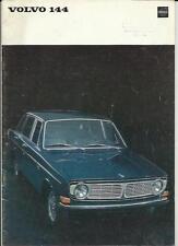 VOLVO 144 brochure 1967