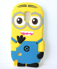 for Samsung Galaxy Note 4 - Soft Silicone Skin Case Despicable Me Yellow Minion