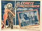 Riders To The Stars El Cohete Conquistador Lobby Card Poster Sci Fi Space 1954