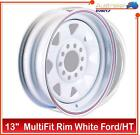 RIM FORD & HOLDEN HT MULTIFIT SUNRAYSIA RIM WHITE BOAT TRAILER WHEELS