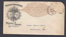 1892 SHIELDS BROTHERS TOBACCO, CIGAR & WHOLESALE GROCERS, KNOXVILLE TN
