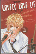 LOVELY LOVE LIE tome 7 Aoki manga VF shojo