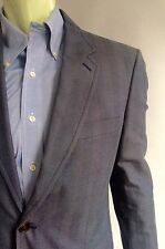 Louis Vuitton Suit, Gray with Rust Pinstripes, Size 38R, Excellent Cond