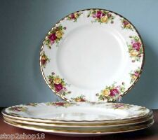 Royal Albert OLD COUNTRY ROSES Dinner Plate SET/4 Boxed New