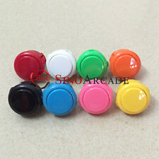 8pcs Original Sanwa Push Button OBSF-30 for Arcade DIY 13 Colors Available