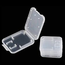 10X Memory Card Holder Case Standard SDHC TF SD Card Adapter/Micro SD Storage