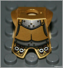 Lego Castle x1 Gold Plate Armor Buckles Knight King Prince Minifigure NEW