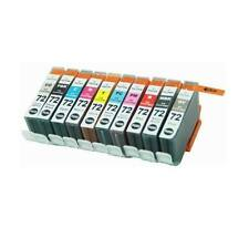 10 Packs Ink Cartridges Canon PGI-72 Compatible with PIXMA PRO-10