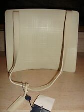 STUNNING, SUPER RARE, $2,595 BURBERRY LEATHER SHOULDER BAG (NWT)