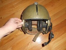 Original Vietnam War vintage US Army APH-5 helicopter flight helmet !!!