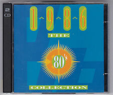THE 80'S COLLECTION - 1986 TIME LIFE 2 CD'S TL544/05 GERMANY /CD'S NEAR MINT!