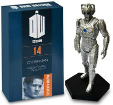 OFFICIAL DOCTOR WHO FIGURINE COLLECTION NO 3 CYBER CONTROLLER THE AGE OF STEEL