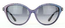Tom Ford Priscila Sunglasses FT0342 342 83F Blue / Violet Iridescent Msrp $370