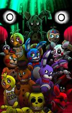 POSTER FIVE NIGHTS AT FREDDY'S 2 3 4 FNAF FAZBEAR HORROR GAME VIDEOGAME GIOCO 9
