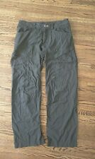 Arc'teryx Men's Rampart Pants - Size 32 - Forest Green - Wicking & stretch