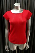 MARC JACOBS Red Cashmere Sweater Top