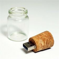 16GB Wishing Drift Bottle USB 2.0 Memory Stick Flash Pen Drive Creative Gift CN