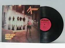 AXTION LOOK OUT FOR THE NIGHT LP RARE 1985 1ST EDITION NM OZZY SCORPIONS