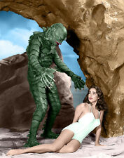 Famous Monsters, Creature From the Black Lagoon Print 14 x 11""