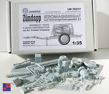 "1/35. Zundapp 7,5 kVA Stromaggregat resin kit, by ""Leadwarrior""  LW 35217"
