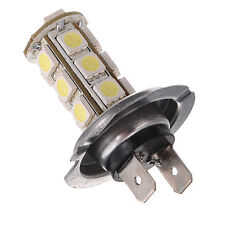H7 5050 18 SMD LED White Car Auto Fog Driving Day Time Head Light Lamp Bulbs 12V