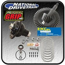 RING AND PINION, BEARING INSTALL KIT & NEW POSI - FORD 8 inch - 3.55 RATIO