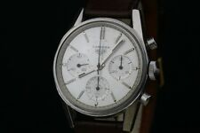 Untouched 2447S Heuer Carrera Chronograph Valjoux 72 Watch Serviced