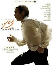 12 Years a Slave (Blu-ray Disc, 2014) NEW