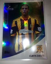 2013 Topps Premier Gold Curtis Davies Green Refractor Parallel #84/99 Rare !