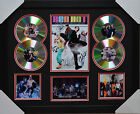 RED HOT CHILI PEPPERS MEMORABILIA FRAMED SIGNED LIMITED EDITION 4CD