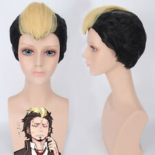 Guilty Crown Arugo Ao no Blue Exorcist Suguro Ryuuji Cosplay Anime party Wig